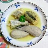 えび芋と助宗鱈の煮つけ~♫