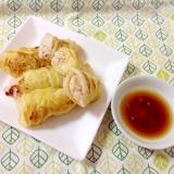 白菜で巻き巻き♪ヘルシー餃子(o^^o)