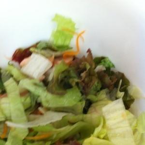 レタスとツナのサラダ