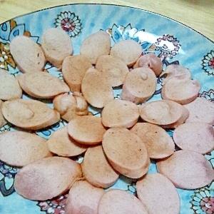 レンジで!魚肉ソーセージチップ
