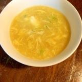 コーン缶で☆とろ〜りスープ