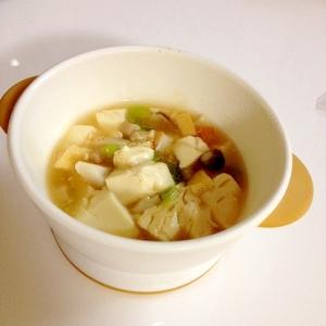 豆腐のとろとろ具だくさん煮込み☆離乳食