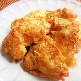 節約&簡単おかず♪塩麹鶏むね肉のごまピカタ