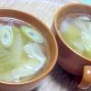 ワンタン入り中華スープ