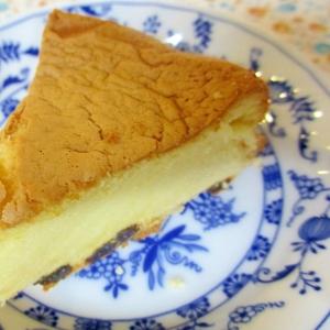 ふんわりラムレーズンケーキ