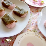 私でも出来た!初めての桜餅チャレンジ