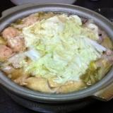 白味噌たっぷりモツ鍋