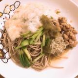 健康ネバネバ蕎麦