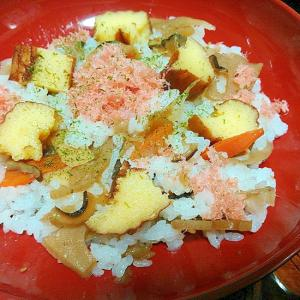 お節の残りで♪彩り☆ちらし寿司