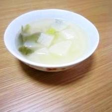 体あったまる鶏と大根のスープ