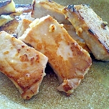 お弁当にぴったり☆マグロの塩麹焼き