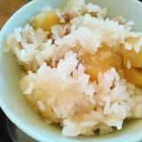 福豆で☆栗大豆ご飯