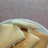 豆乳とメイプルシロップの米粉パンケーキ