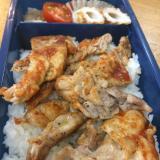 【簡単お弁当】豚ロースのケチャップ丼