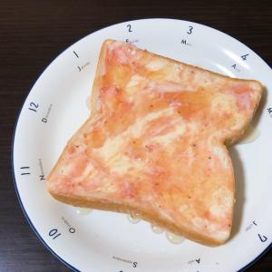 ハチミツいちご トースト