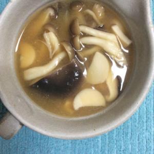 きのこたっぷり♪お味噌汁