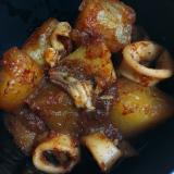 ピリ辛☆イカと大根の韓国風煮
