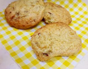 HM&電子レンジで(^^)濃縮バナナのクッキー♪