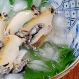 本来の味を堪能♪ 活きアワビで「水貝」