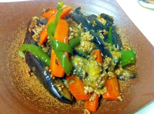 野菜たっぷり♪ご飯がモリモリ~トロ~り麻婆茄子