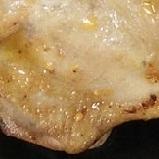 ガーリックチーズのチキンステーキ
