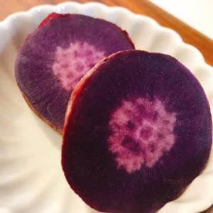 炊飯器de蒸かし紫芋(パープルスイートロード)