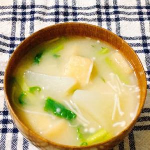 かぶの簡単お味噌汁
