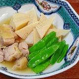 春のお惣菜☆ 「たけのこと鶏肉の煮物」
