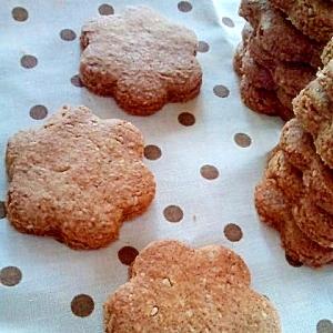 ヴィーガンスイーツ 白ごまとアーモンドのクッキー