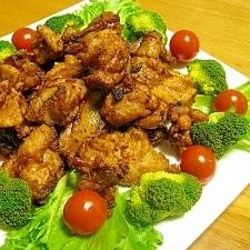 塩麹で簡単味付け!米粉でカラッと!鶏の唐揚げ