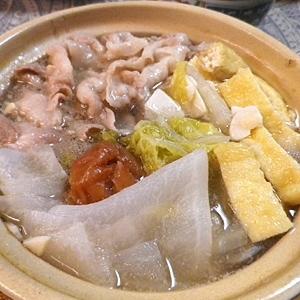 白菜梅豚鍋