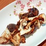 素材を味わう☆原木椎茸のホイル焼き。