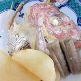 居酒屋の一品 49)真鯛の兜煮