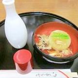 蟹あんかけが味の決め手☆ 「ふろふき大根」
