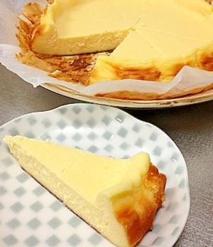 ほんのりメープル香る☆簡単☆濃厚☆チーズケーキ