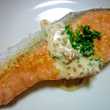 鮭オリーブオイル焼き