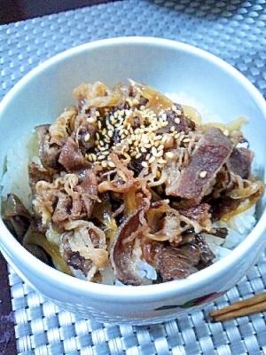 牛丼(^^)v