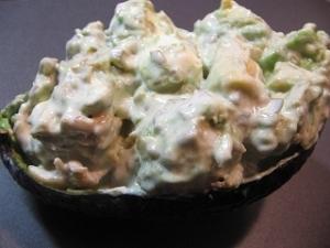 アボガド鶏肉マヨネーズサラダ