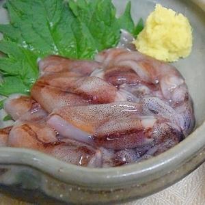 氷温解凍で☆「ホタルイカのお刺身」