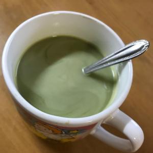 抹茶ミルクカクテル