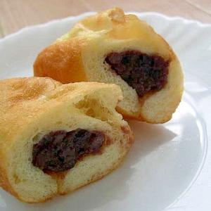 揚げパン(あんこ入り)