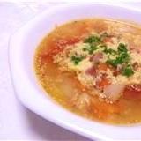 生姜トマトスープ