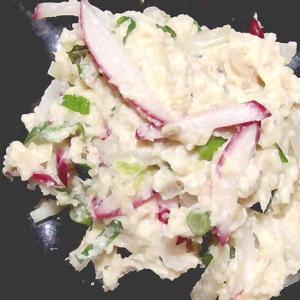 ポテサラ風おからサラダ!簡単で食物繊維たっぷり♪