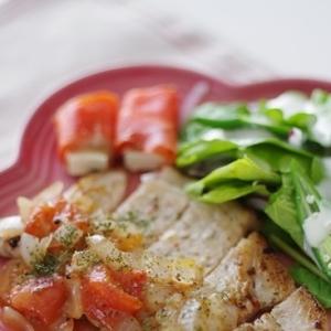 豚肉のイタリアンマリネ焼き