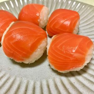 刺身の余りをリメイク‼︎コロンとかわいい手毬寿司