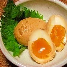 黄身がトロ~リ☆茹で卵の味噌漬け