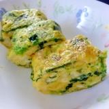 ☆お弁当に♪ ほうれん草&チーズ入り卵焼き☆
