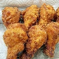 塩こうじ骨つき鶏肉のカラアゲ