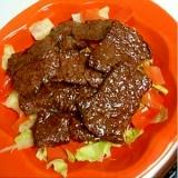 野菜いっぱい★牛焼肉でキャベツを食べる
