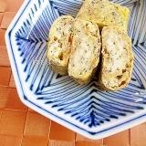 切干大根の煮物とごまの卵焼き